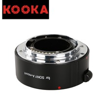 KOOKA KK-S25 Copper Extension Tube TTL Exposure Close-up Image for Sony A-Mount Cameras (25mm)