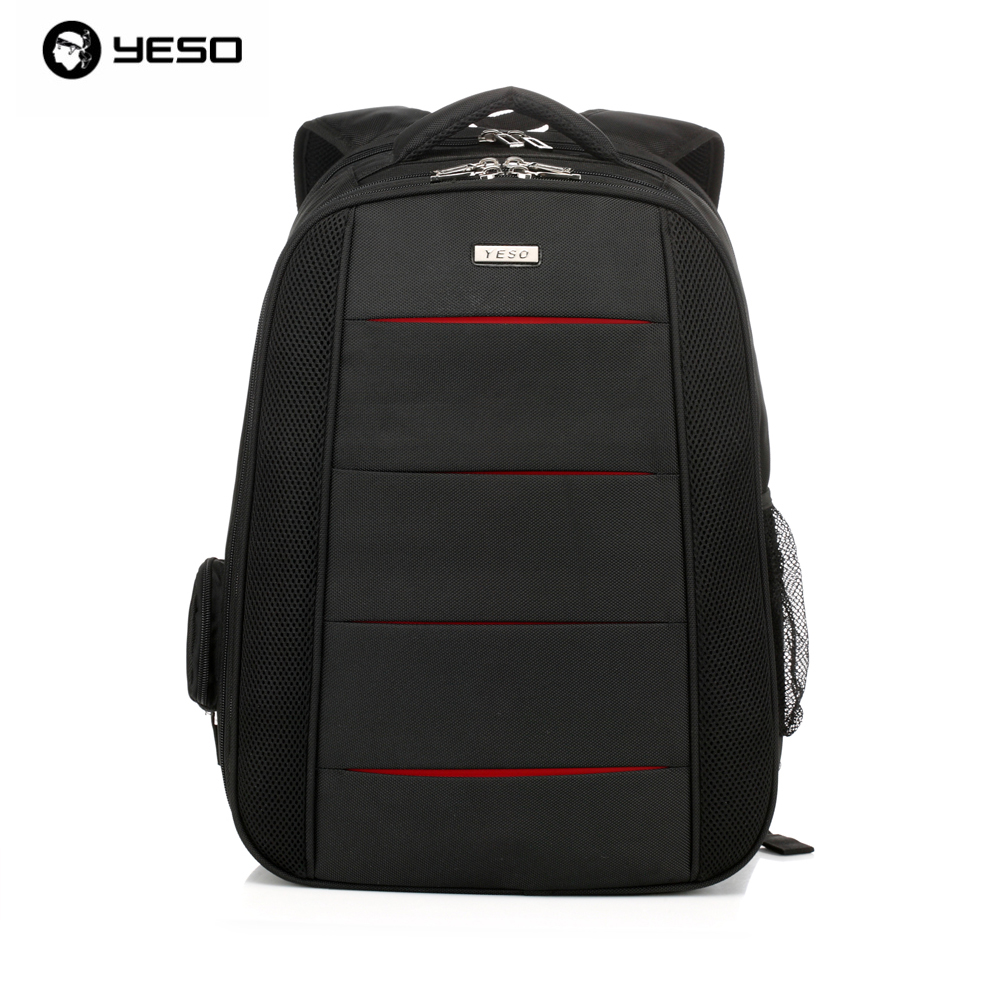 YESO Brand Stylish Men's Business Waterproof Oxford Professional Laptop Backpacks Office Notebook Bags Travel Casual Backpack yeso brand 2017 waterproof oxford business backpack men the knapsack travel school backpacks women professional big capacity