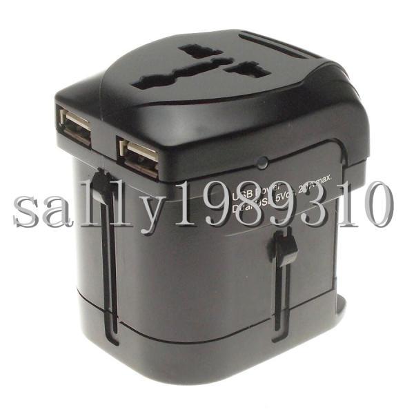 GSM dual usb2 1a universal conversion plug adapter plug