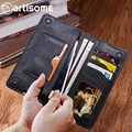 Universal PU Leather Wallet Men / Female / Women Purse Credit Card Holder Phone Bag Case For iPhone Samsung Xiaomi Redmi Case