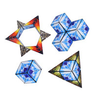 MoFang Creative Infinite Anxiety Puzzle 4pcs Flip ADHD Spinner