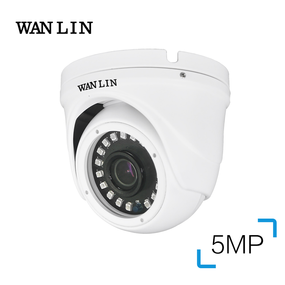 WAN LIN AHD Camera 5MP Sony IMX326 Video Surveillance Camera IR Night Vision Outdoor Dome Security