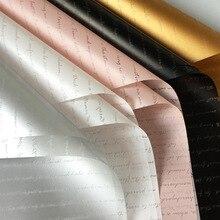 20 шт пластиковая Водонепроницаемая оберточная бумага для цветов английские буквы Цветочная упаковочная бумага для рукоделия подарочная упаковка для Дня матери
