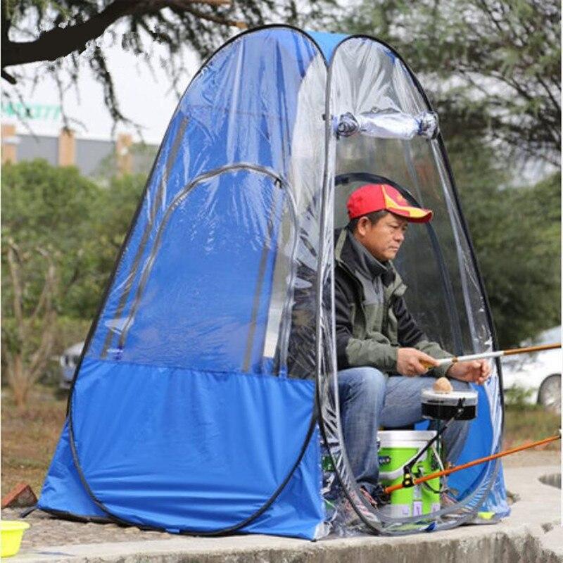 Automatique Tente de Pêche En Plein Air Camping Plage Parasol Ultra-Léger Portable Sac À Dos Touristique Tente Installation Gratuite Pop Up Tente