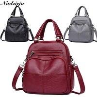 Brand Women's Bag Shoulder Bags Crossbody Women Genuine Leather Backpack Small Mini Women Hand bag Mochila Bagpack