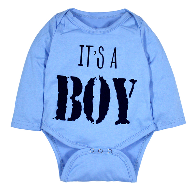 89ee31e29511 Baby Boy Girl Bodysuit Tiny Cottons Autumn 2017 Newborn Girls Boys Clothes  Baby Bodysuits Blue Long