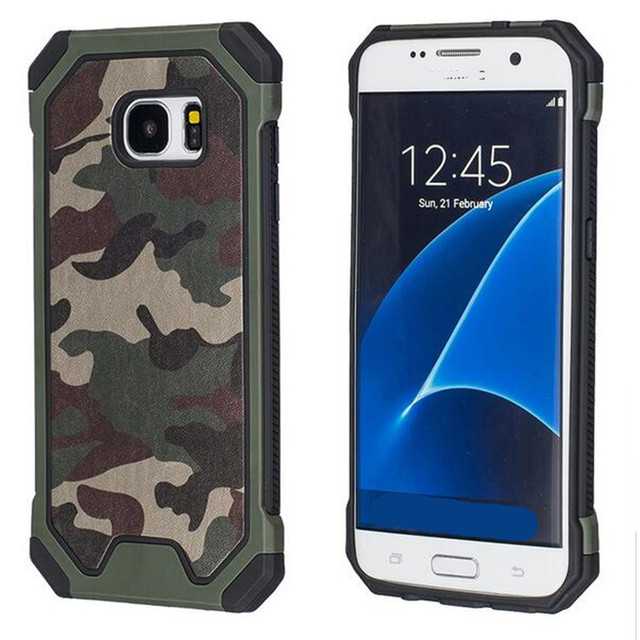 the best attitude e1ac9 d42d9 US $2.99 40% OFF|Aliexpress.com : Buy For Samsung S6 Case G9200 Camouflage  Silicone Case Back Cover Rubber Phone Cover For Samsung Galaxy S6 edge plus  ...