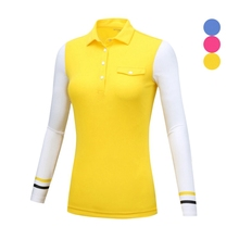 hot deal buy new arrival women golf shirts long sleeve women sportwear women outdoor golf shirts pgm ladies autumn outdoor sports shirts
