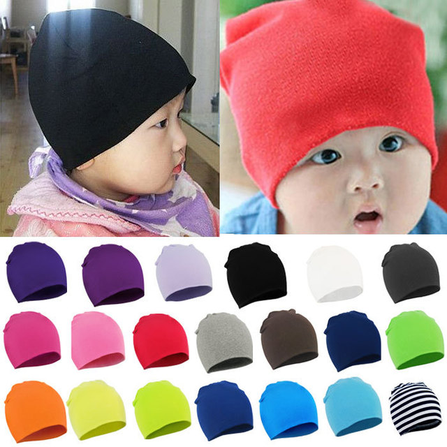 New Arrival!!2017 New Unisex Newborn Baby Boy Girl Toddler Children Cotton  Soft Kids Cute Hat Cap Beanie 20 Color 61ecafa74804
