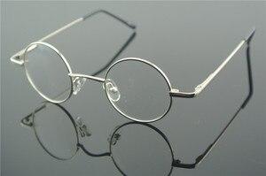 Image 5 - Bisagras de resorte redondas pequeñas para miopía, lentes Vintage de 38mm con monturas para gafas metálicas