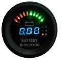 Rodada hour meter medidor Digital LED Da Bateria Indicador de descarga estado de carga medidor de empilhadeira, LED arc linha, EV, 12 V até 100 V