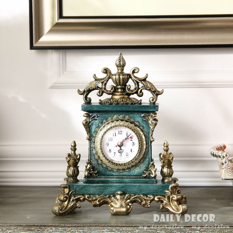 Vintage européen américain table horloges décoration support/bureau horloge antique grand-père horloge reloj de mesa livraison gratuite