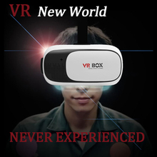 2016 3D VR BOX Upgraded Headset 3D Glasses Virtual Reality Immersive Viewing Excellent Quality for 85-95 Degree Perspective