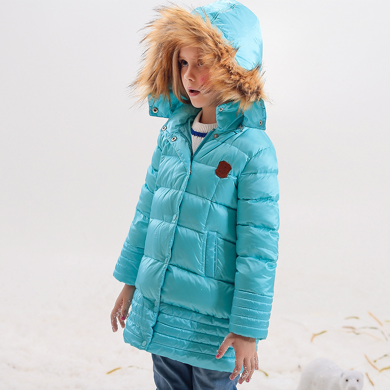 Girl Coats  Winter Jackets Kids Outwear Thick Warm Down Jacket Girls Clothes Parkas Children Baby Girls Clothing korean baby girls parkas 2017 winter children clothing thick outerwear casual coats kids clothes thicken cotton padded warm coat
