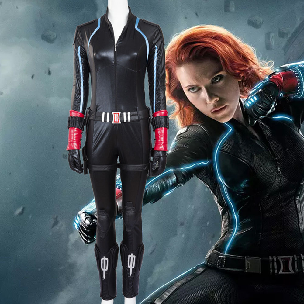 Us 156 99 High Quality The Avengers Age Of Ultron Black Widow Costume Natasha Romanoff Cosplay Costume Women Full Set In Movie Tv Costumes From