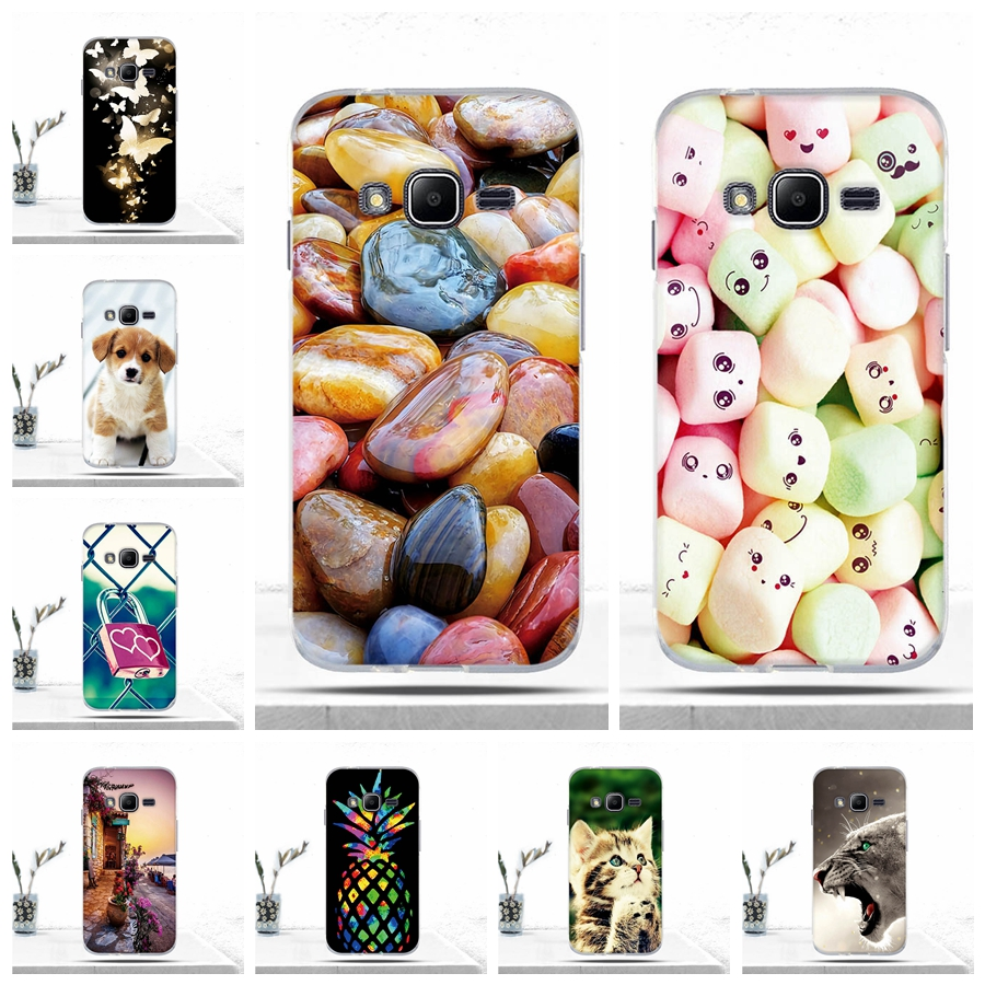 Phone Case For Samsung Galaxy J1 mini prime J106F V2 Cover Soft TPU Silicone Back Cover for Samsung J1 mini prime Case Covers