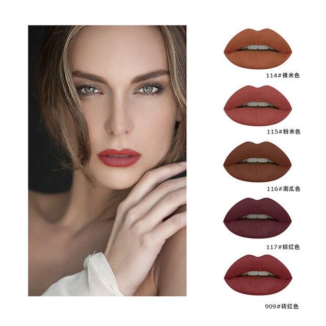 Pudaier Eat Soil Color Lip Gloss Matte Matte Liquid -2982