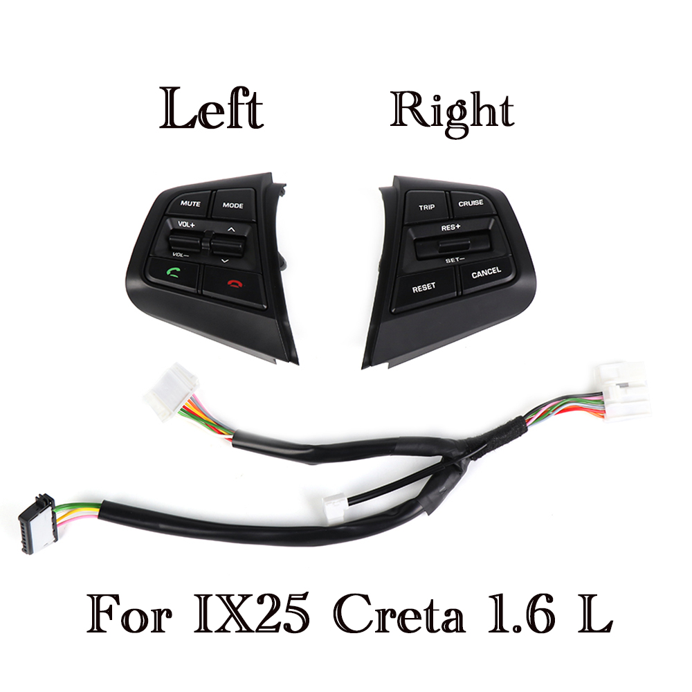 Для hyundai Creta ix25 1.6L/2.0L руль круиз управление пуговицы 96700C90004X 96710C90004X 96710C90104X