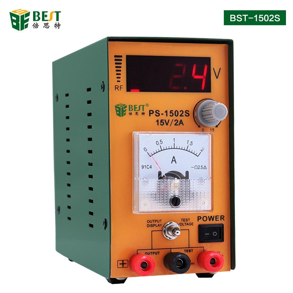 Alimentation numérique à courant alternatif réglable de haute précision de 15 V/2A