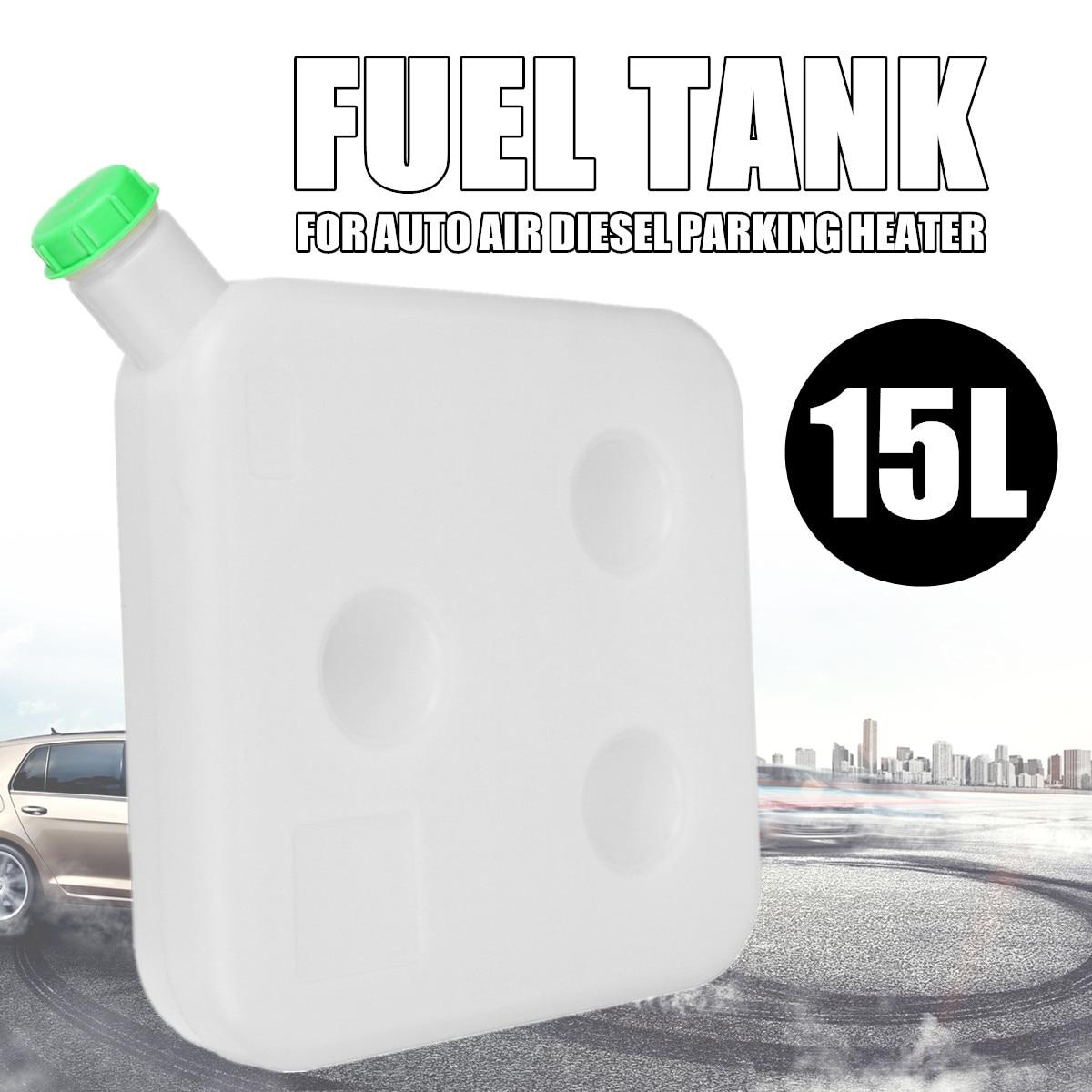 Mazout réservoir d'essence 15L voiture Air Diesel chauffage de stationnement ingénierie plastique pour Auto camion 40x40x9 cm universel alimentation en carburant