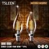 TSLEEN E12 Led Lamp E14 220V Led Bulbs 110V Candle Bulb Energy Saving Lamp Light Home Lampada Led Decorativas 4W 8W Ampoule Led