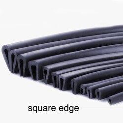 1 м u-образная резиновая уплотнительная полоса кромки АВТО резиновое уплотнение для стеклянной металлической деревянной панели листового ш...