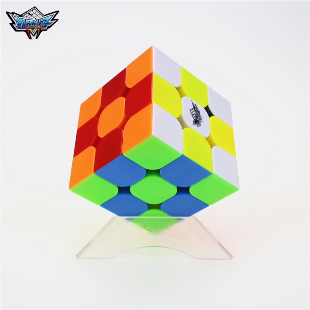 Cyclone Boys Feijue 3x3 Magnetic Version Magic Cube Competition Speed Puzzle Cubes Colorful Stickerless cube No retail packaging