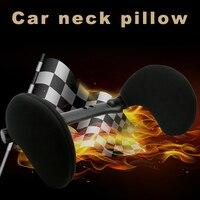 Comfortable Car Pillow Car Seat Head Neck Rest Pillow Auto Supplies M8617