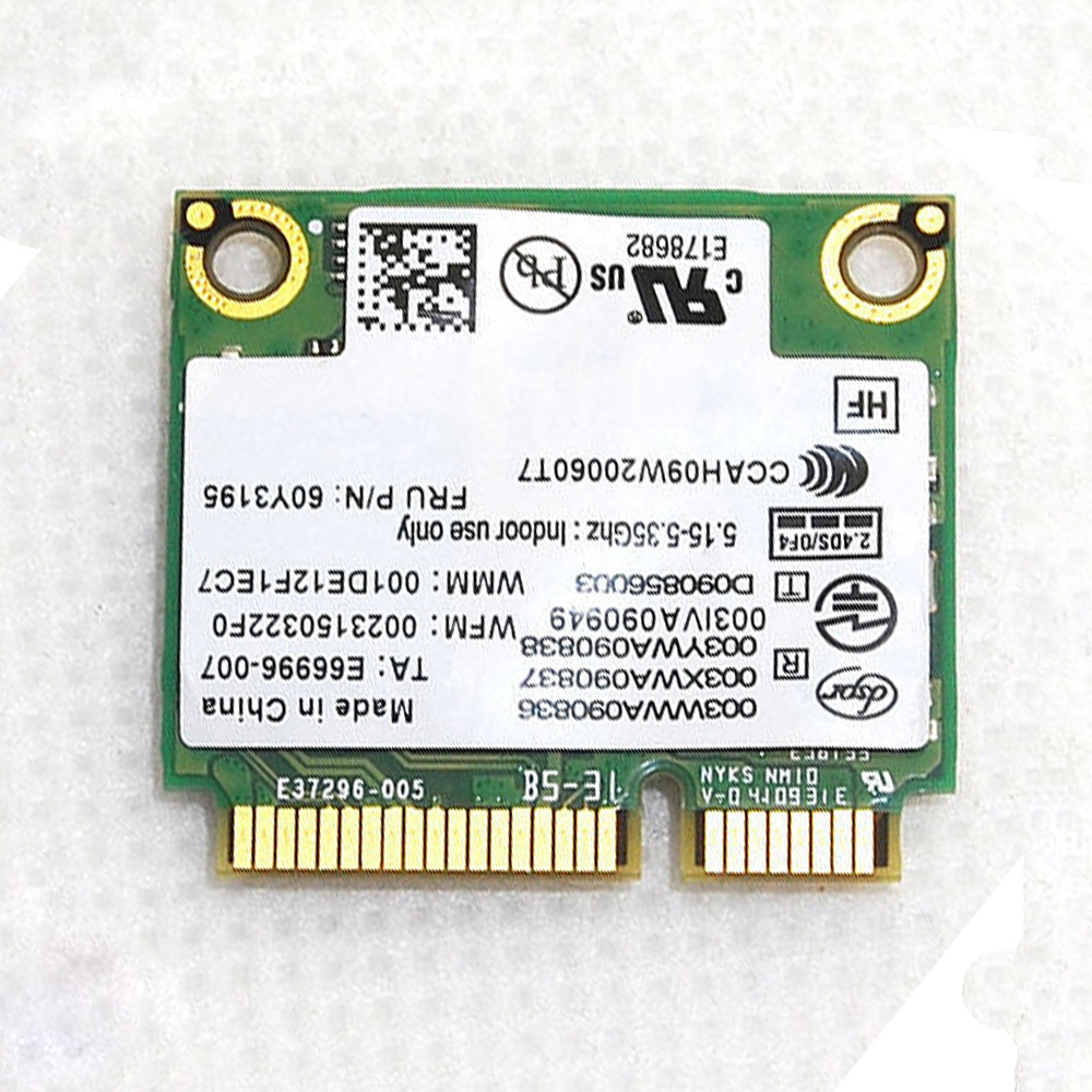 Dell Vostro Wireless N Card V13 1014 1015 1088 1320 1520 1720 Dual Band WIFI