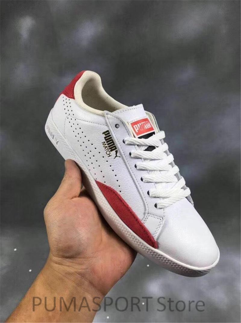 New Arrival Puma Match Lo Basic Spsrts Wn's Sneakers Women's Badminton Shoes Size 36-40 hot 2018 puma women s muse echo satin ep sneakers badminton shoes size 36 40