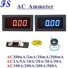 YB5135B LEVOU Medidor de Corrente AC 100A 200A 300A 500A AC Amperímetro AC 200uA 2mA 20mA 200mA 5A 10A 20A 50A Amp Medidor de Painel Ampere Medidor