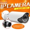 4MP POE, Ip-камера ONVIF Водонепроницаемый Открытый Пуля Камеры ВИДЕОНАБЛЮДЕНИЯ, КОМПЬЮТЕР и Мобильный Вид P2P Облако С Автоматической Диафрагмой 2.8-12 мм С Переменным Фокусным Расстоянием