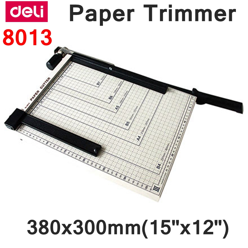 [ReadStar]Deli 8013 Manual paper trimmer size 380x300mm(15
