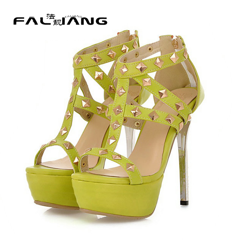 ФОТО 2017 new arrive fashion women sexy summer wedding and party sandals thin high-heeled sandals