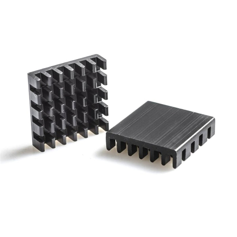 1 Piece AKK Black Aluminum Heatsink Kit For AKK X2-ultimat.e / FX2-ultimat.e / X2 / X2P / FX2 / <font><b>TX1200</b></font> FPV Transmitter RC Model image