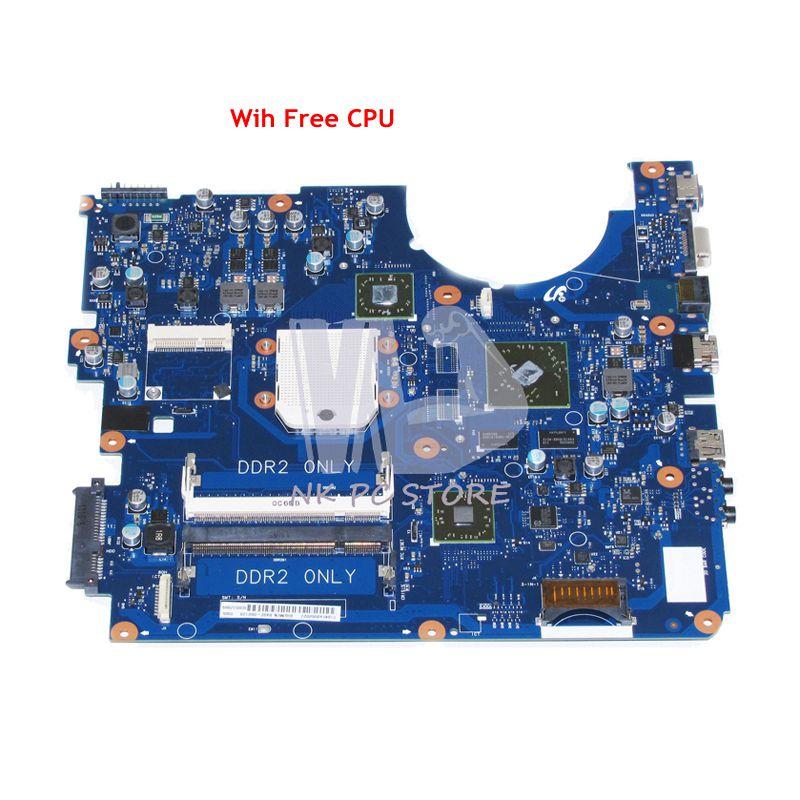 NOKOTION BREMEN-D For Samsung R525 NP-R525 Laptop Motherboard DDR2 BA92-06013B BA92-06013A BA92-06014A BA92-06014B Free CPU nokotion for samsung r60 plus laptop motherboard np r60y ba92 04772a rs600me sb600 radeon xpress 1250 ddr2