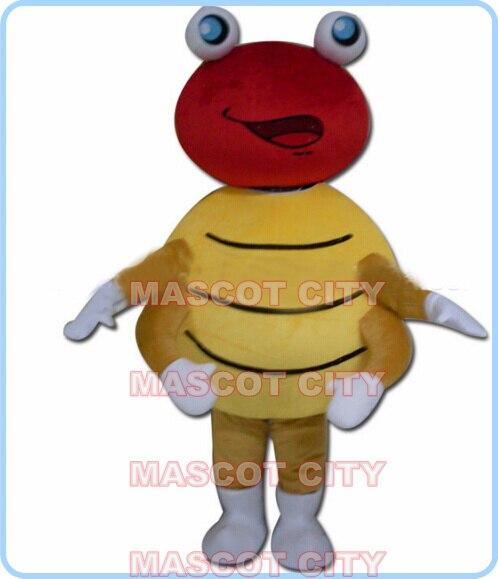 Талисман Божья коровка жук костюм талисмана Оптовая Продажа ростовой костюм мультяшный насекомое, Жук костюм аниме для косплея костюмы 2801