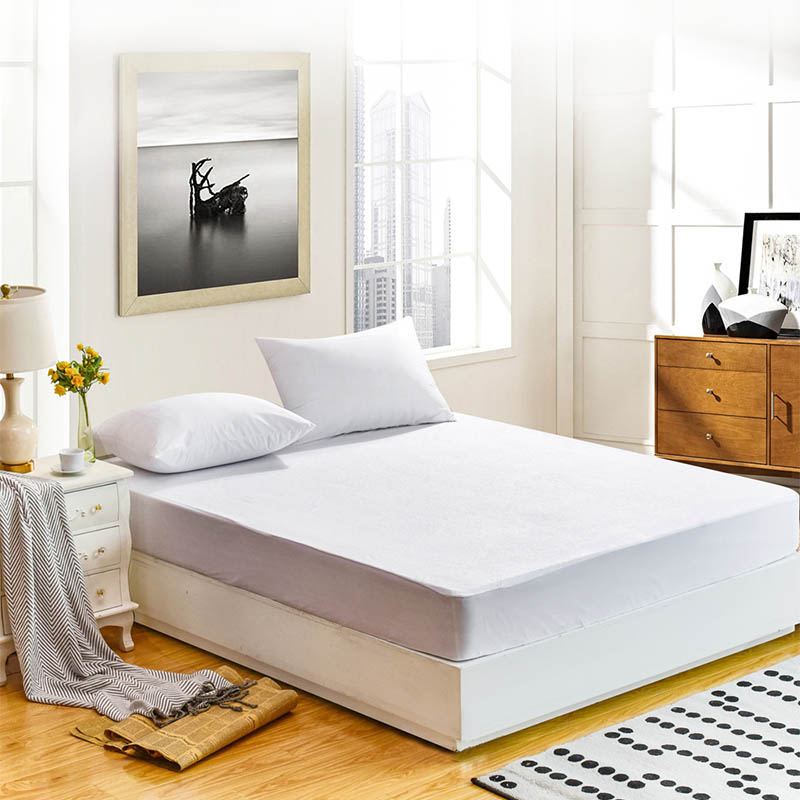 160X200CM High-quality Mattress Cover <font><b>with</b></font> elastic protection pad twin single full queen king size