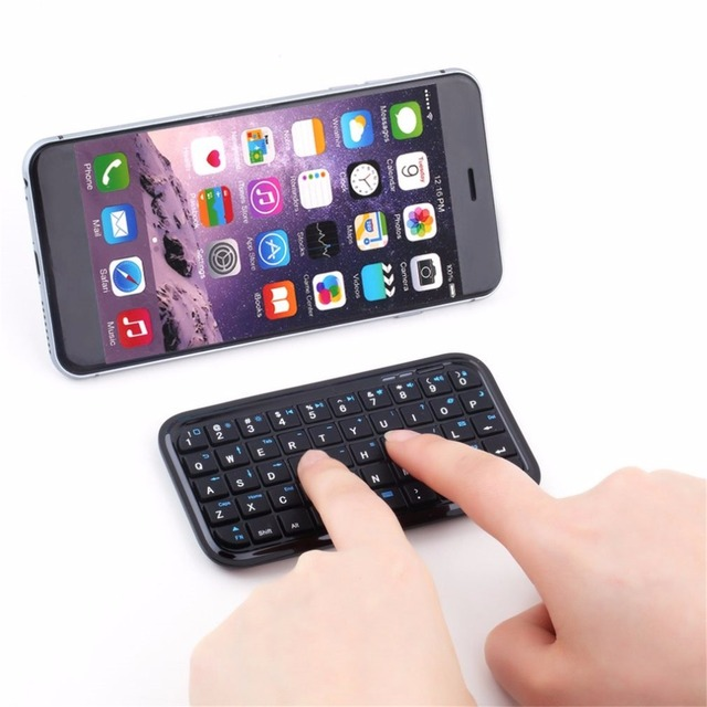 Mini Wireless Bluetooth 3.0 Keyboard for iPad 2 3 4 for iPhone 4S 5 5S 6 6S 7