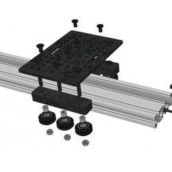 Placa de alumínio do pórtico do v-entalhe universal 20-80mm para a impressora 3d nk da máquina do roteador do cnc-compras