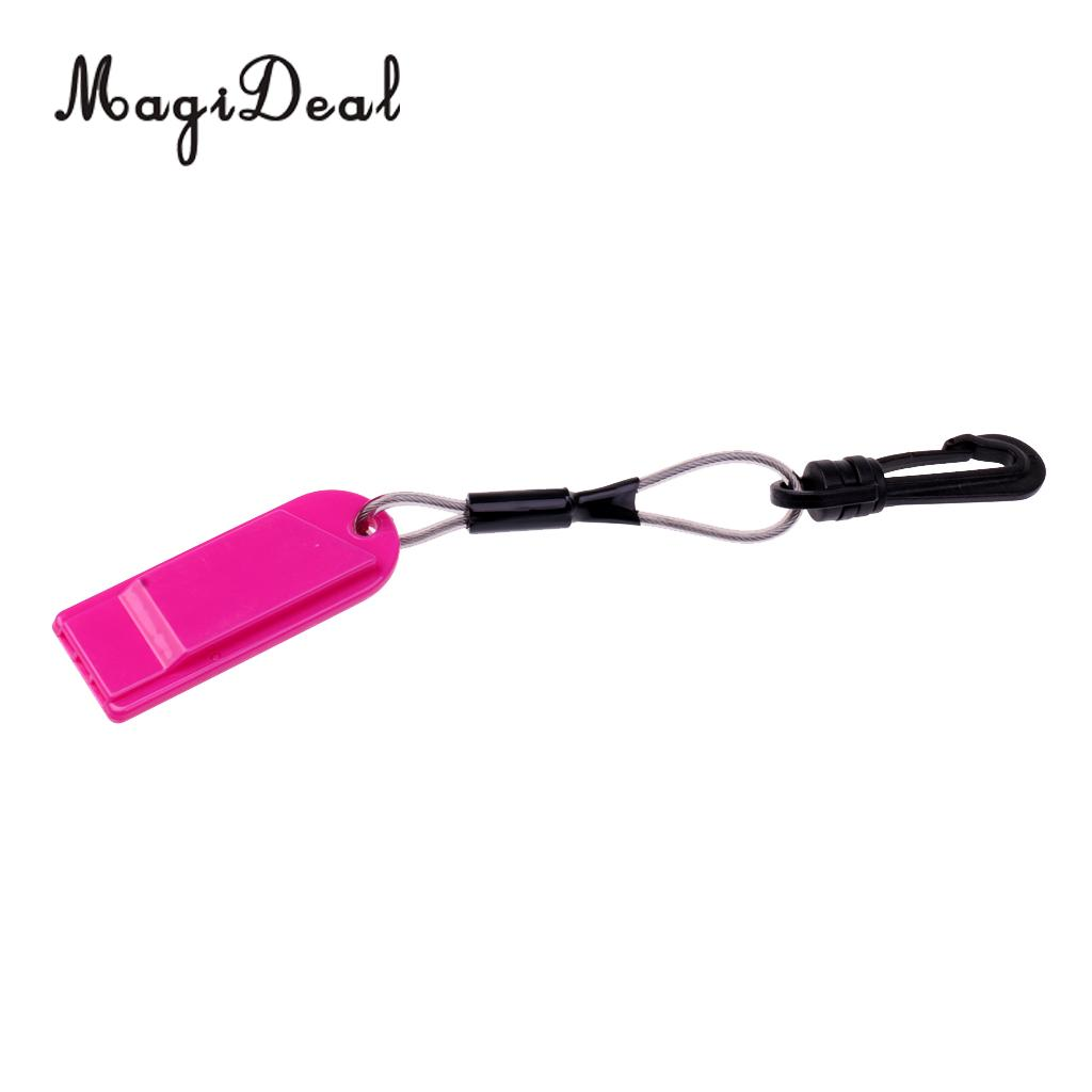 20cm Floating Safety Whistle Lanyard with Swivel Clip for Kayak Canoe Boat