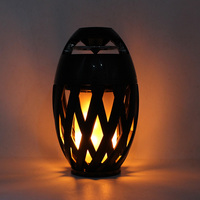 LED Flame Lamp Bluetooth Speaker Color Changing Lamp Portable MP3 Player Stereo Bass Bluetooth Audio Decoration