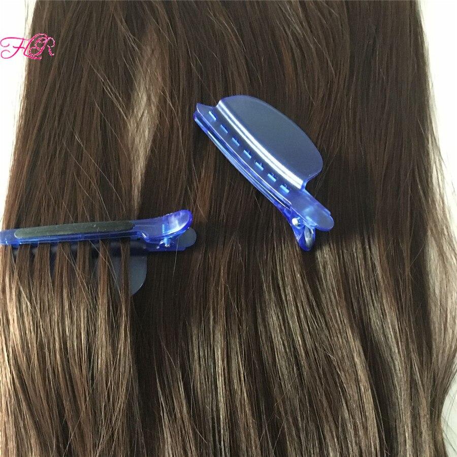 Секционирования клипы, легкий / скорость сепаратора клипы синий цвет 10 шт. для наращивания волос