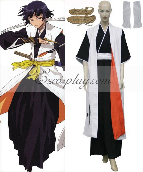 Javel 2nd Division capitaine Soi Fon Cosplay Costume E001