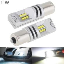 цена на 2pcs Car Led Bulbs 12V 1156 COB SMD Lights 1200LM 6500K-7500K White Driving Running Car Lamp Auto Fog Lamp for Cars Vehicles