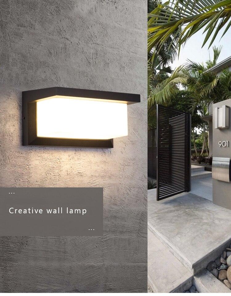 luz de parede à prova dwaterproof água
