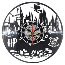 2018 CD Record Wall Clock Modern World Vinyl  Watch Classic Clock Relogio De Parede