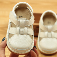 2017 Summer Baby Sandals 1 3 Years Old Anti Slip Soft Bottom Baotou Toddler Shoes