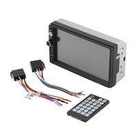 7010B 2 Din 7 Inch HD Digital Screen Night Vision Bluetooth Head Unit Car Vehicle Stereo