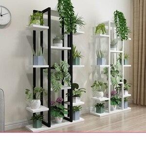 Bonitas y bonitas macetas pergola de gran tamaño, soporte para macetas y estantes para plantas